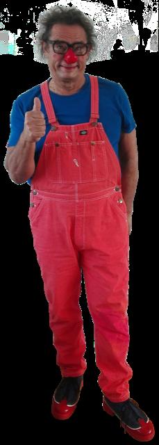 Freisteller Clown Heini